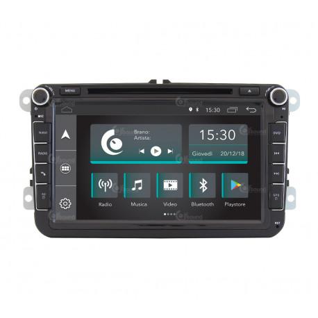Autoradio pour Volkswagen JF-038W6A-XDAB